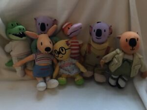 """Complete Set Of Seven Koala Brothers Characters (6"""" Plush)..."""