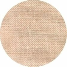 Wichelt Permin PREMIUM LINEN FABRIC 32 Count Cross Stitch 18x27 TOUCH OF PEACH