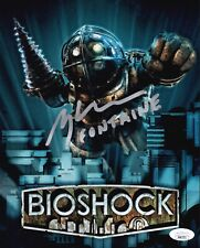 GREG BALDWIN BioShock Signed 8x10 FRANK FONTAINE Photo Autograph JSA COA Cert
