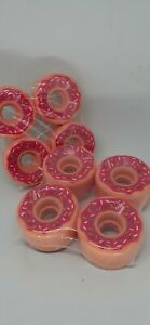 Riedell Radar Outdoor Donut Roller Skate Wheels Set of 8 78a hardness