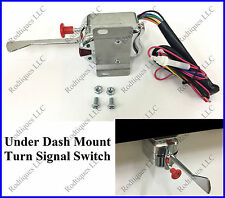 Rodtiques  6-12 Volt Turn Signal Switch Mounts Under Dash w/ Hazard Ford