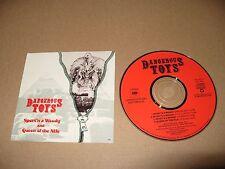 Dangerous Toys Sport N A Woody 4 track cd Demo cd 1990 Near Mint