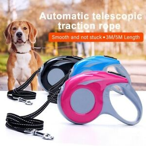 Dog Leash Retractable Walking Collar Automatic Traction Rope Small Pet