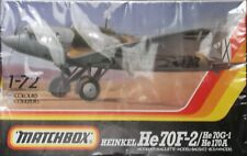 +++ HEINKEL He 70F-2/He 70G-1/He 70A + 1/72 SCALE KIT by MATCHBOX +++