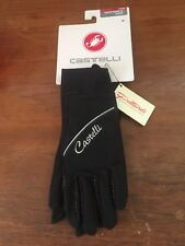 Castelli Super Nano Womens Glove New Med. Wind And Water Repellant Cool Weather