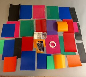 BOUNCY CASTLE REPAIR KIT NEEDLES THREAD STRONG PVC ROT PROOF WATERPROOF PATCHES