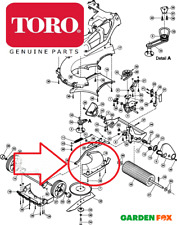 GENUINE TORO 41cm Recycler 21131 316001-99999 Inspection MOULDING COVER 111-0038