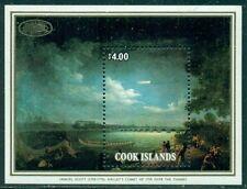 COOK ISLANDS SCOTT # 902, HALLEYS COMET SHEETLET, MINT, OG, NH, GREAT PRICE!