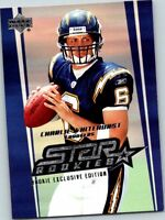 2006 Upper Deck Exclusive Edition Rookies Football Card #234 Charlie Whitehurst