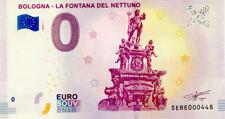 ITALIE Bologna, La Fontana del Nettuno, 2019, Billet 0 € Souvenir