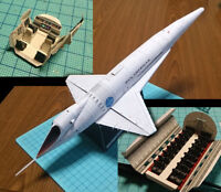 Film 2001: A Space Odyssey The Orion III Spaceplan DIY Handcraft PAPER MODEL KIT