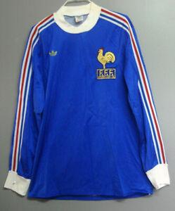 Maillot France 1978 Adidas Ventex Coupe Du Monde