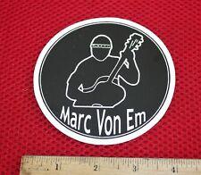 Marc Von Em, cool Sticker, singer songwriter, New Sticker, unused, Smithereens
