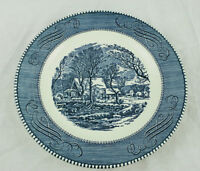 Vintage Currier and Ives The Old Grist Mill by Royal Plate