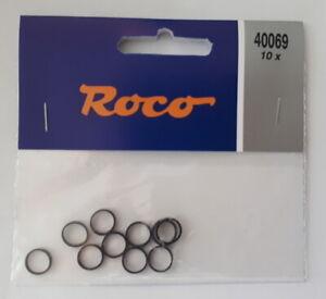 Roco 40069 Haftreifen für H0 - Lokomotiven, NEU, OVP, 10 Stück