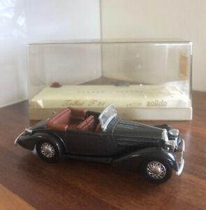 SOLIDO 4003 TALBOT T23 MODEL CAR 1:43 BLACK (Vintage)