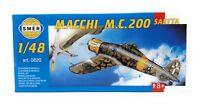 SMER Modellbau Modellbausatz Militär 1:48 Flugzeug Macchi Castoldi M.C.200