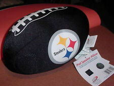 PITTSBURGH STEELERS FOOTBALL iPod Nano MP3 SPEAKER PILLOW NFL New black  NWT