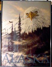"""Jon Van Zlye """"Atlaska """" Hand signed Framed print"""