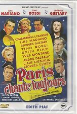 "DVD ""PARIS CHANTE TOUJOURS"" TINO ROSSI LUIS MARIANO- neuf sous blister"