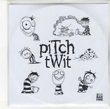 (DL490) Pitch Twit, Sidewards / Pieces of 4 - 2009 DJ CD