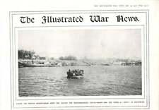 1916 Small Boat Kufa Kut-el-amara Mesopotamia
