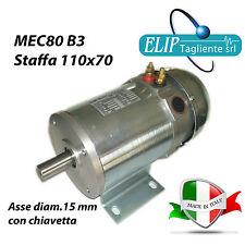 MOTORE ELETTRICO 24V DC 700 W 3000 RPM TRAZIONE