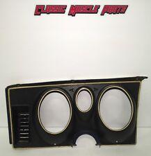 71 72 73 Ford Mustang Mach 1 Boss Grande Deluxe Dash Speedometer Gauge Bezel #2