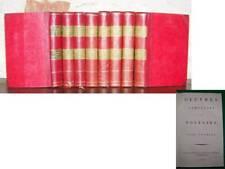 Voltaire Théâtre 8  volumes illustrés