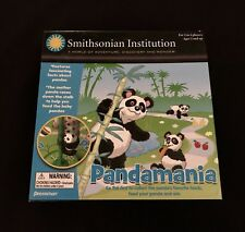 Smithsonian Institution Pandamania Board Game Ages 5 & Up. Complete Game