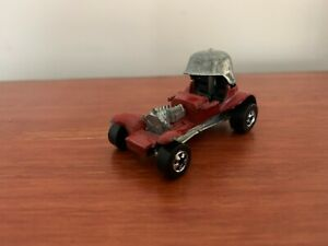 Vintage 1969 Hot Wheels Red Baron Die Cast Toy Made in Hong Kong