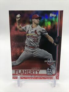 JACK FLAHERTY 2019 Topps Opening Day Red Foil Parallel St Louis Cardinals (#139)