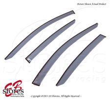 For Acura ILX 2013-2015 Tape On Ash Grey JDM Window Visors Deflector 4pcs