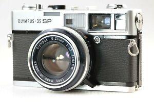 【Read! EXC++++】Olympus 35 SP 35mm Rangefinder Film Camera G.Zuiko 42mm f1.7 Lens