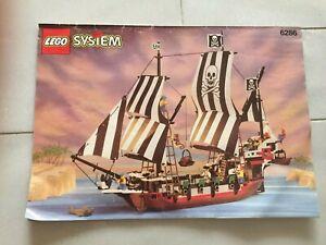 LEGO PIRATE SHIP NP 6286 INSTRUCTION BOOKLET MANUAL ONLY SKULL'S EYE SCHOONER