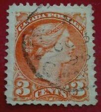 Canada :1868 Queen Victoria 3 C. Rare & Collectible Stamp.