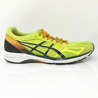 Asics Mens Lyteracer RS4 TJL428 Yellow Black Running Shoes Lace Up Size 8.5