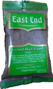 100g East End Black Pepper Fine Ground Powder - Premium Quality  Free P&P