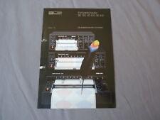 BBC Goerz Metrawatt Kompaktschreiber SE 120 420 430 Katalog 1982 Prospekt