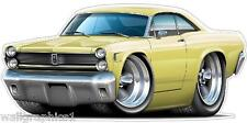 Mercury Comet 1967 4ft Long Wall Graphic Decal Sticker Man Cave Room Decor