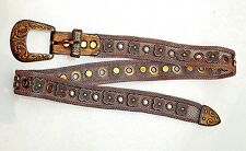 Sand Castle Belt WESTERN Style Bronze mesh Small Medium Large One size fits all.