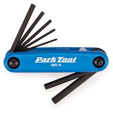 Park Tool AWS-10 Fold-Up Hex Wrench Conjunto de 1.5 a 6 mm