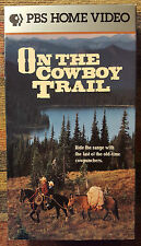 American Cowboy Collection - On the Cowboy Trail (VHS, 1992)