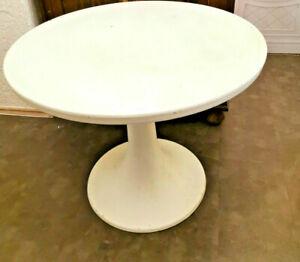 Tisch Gartentisch Tulpenform, passend zum Z Stuhl, Ernst Moeckel, DDR, 60er/70er