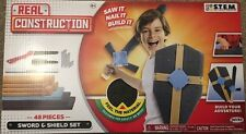 Real Construction Sword & Shield Set 48 Pieces