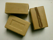 6 Stück. Seife  ca. 1200 g. natürliche Olivenöl-Seife mit Kordel, Naturseife