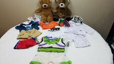 2 Build a Bear + Large Lot Rare Retired clothes & accessories, Buzz Light Year