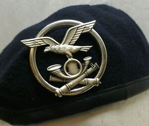 Basco Militare Artiglieria Alpini esercito Italiano Fregio berretto militaria