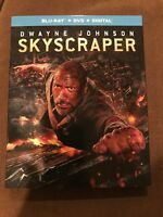 Dwayne Johnson Skyscraper Blu-Ray + DVD + Digital