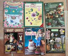 Lot Of 6 Vintage Tole Painting Books/Leaflets